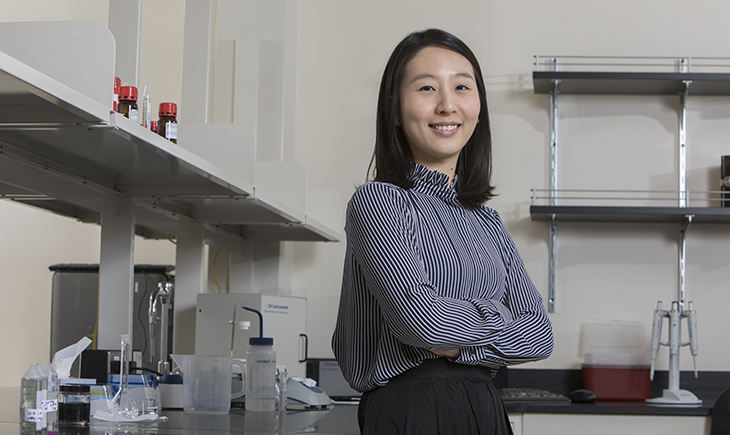 Assistant professor Ahyeon Koh of the Biomedical Engineering Department