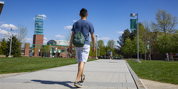 A five-year, $625,000 grant from the New York State Office of Alcoholism and Substance Abuse Services (OASAS) will help Binghamton University prevent and reduce alcohol and drug access for students like this one.