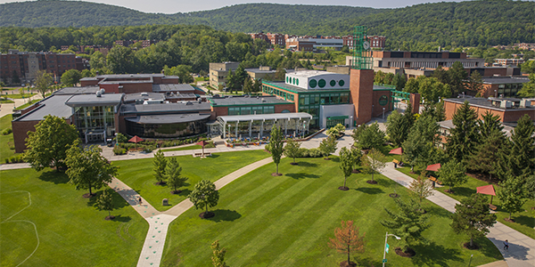 Binghamton University's excellence in student outcomes helped it move up in this year's rankings of national universities by U.S. News & World Report.