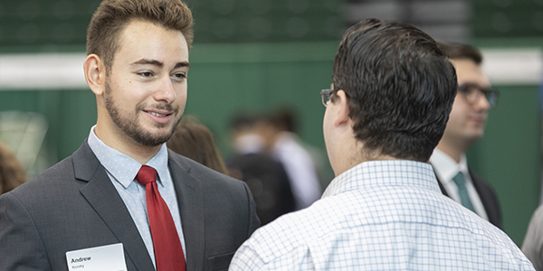 Binghamton University students will be able to talk to industry-specific representatives during revamped job fairs this spring.