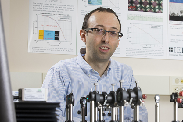 Assistant Professor of Mechanical Engineering Scott Schiffres has received a National Science Foundation CAREER Award to support research to find intermetallic materials (alloys) that cool more quickly than materials in current use.
