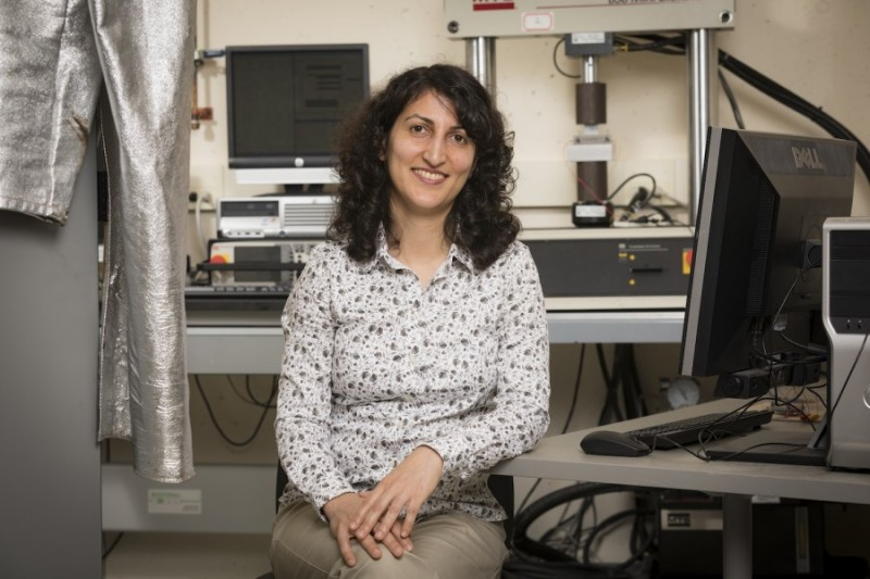"""Shahrzad """"Sherry"""" Towfighian, an associate professor of mechanical engineering at the Thomas J. Watson School of Engineering and Applied Science, recently received a $429,134 grant from the National Science Foundation."""