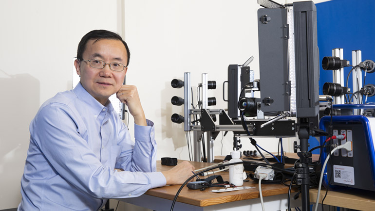 Binghamton scholar Lijun Yin is a pioneer of three- and four-dimensional modeling of the human face.