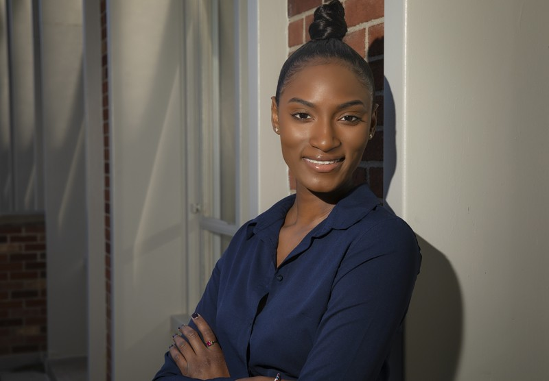 Chenelle Seck will pursue a master's degree at Teachers College Columbia University.