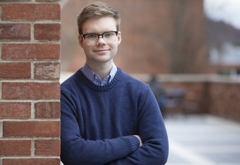 Kayden Stockwell, a student on the autism spectrum, will graduate with degrees in psychology and human development.
