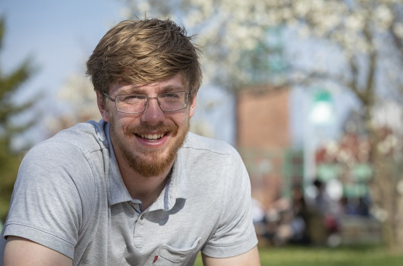 Alexander Van Roijen has served as a resident assistant, Student Culinary Council president and a member of Binghamton Scholars during his time on campus.