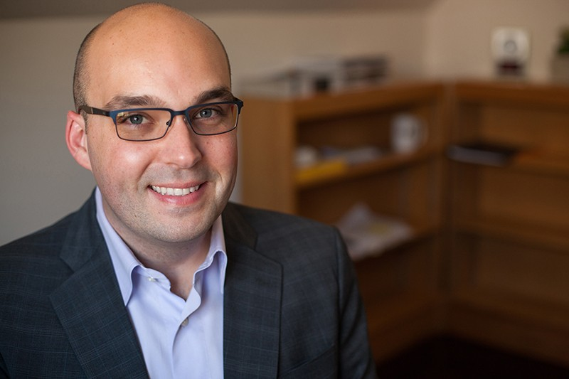 Less than a decade after receiving his doctorate from Binghamton University, Justin Garcia is the new acting executive director of the Kinsey Institute.