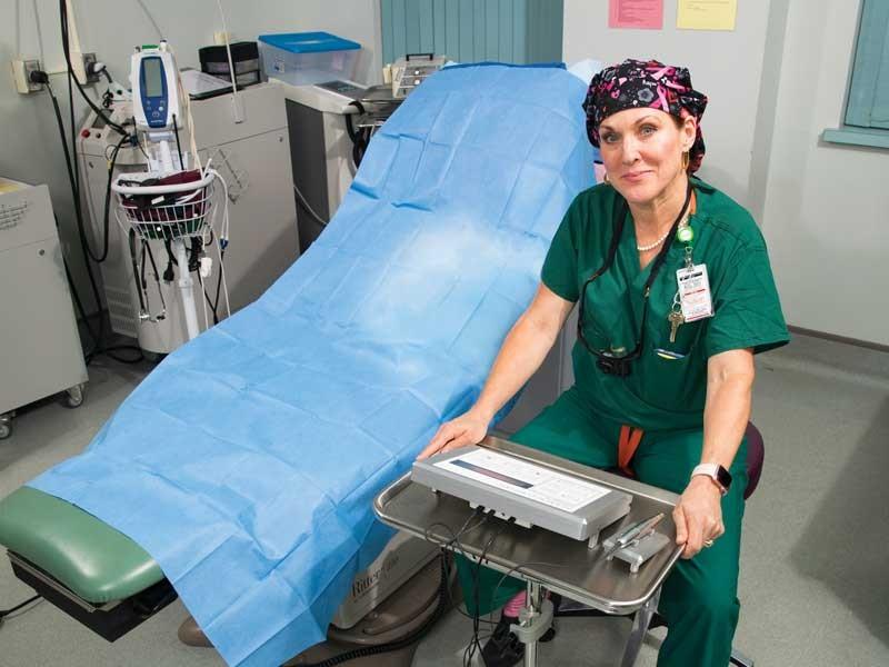 Decker School of Nursing alumna helps breast cancer