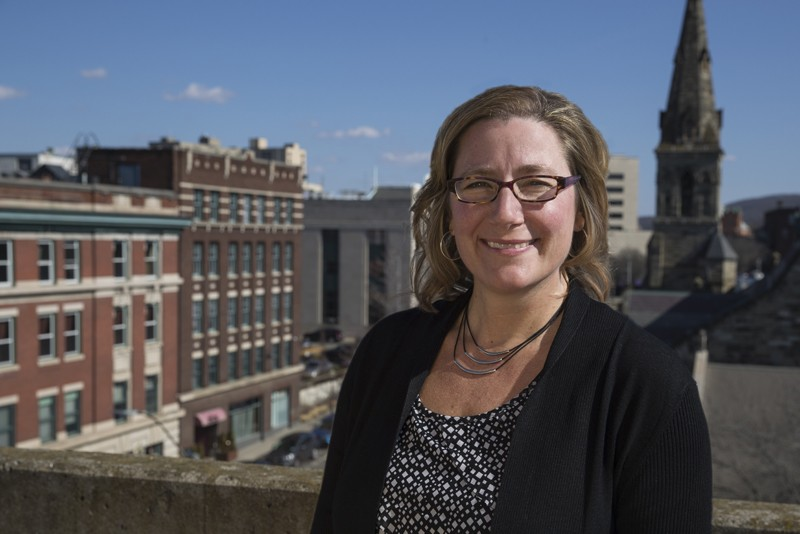 Kelli Huth is entering her second semester as Center for Civic Engagement director.