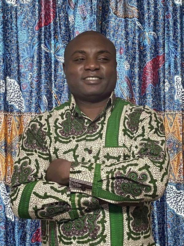 Visiting Assistant Professor of Theater and Africana Studies Samuel Eliakem Kwame Nyamuame