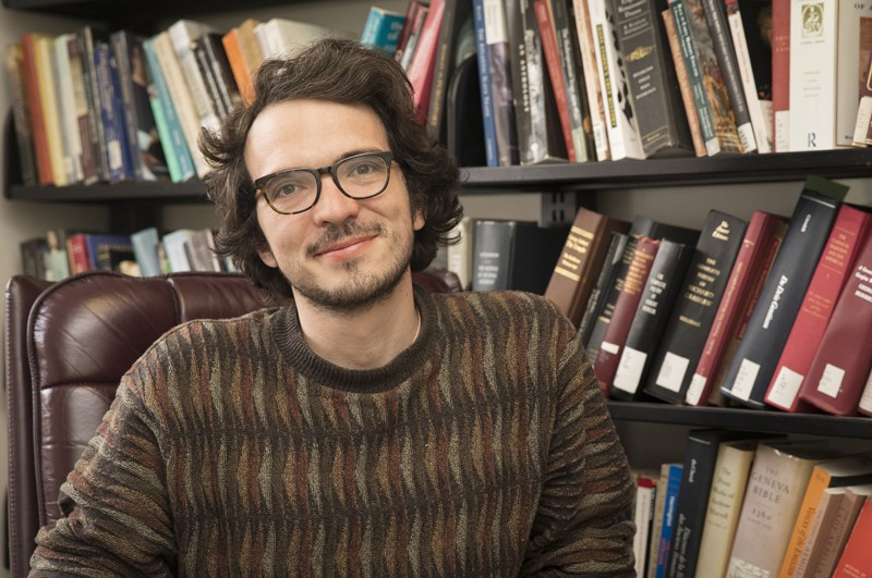 John Kuhn, an assistant professor in the English Department, will serve as a 2019-20 fellow at the Folger Shakespeare Library.