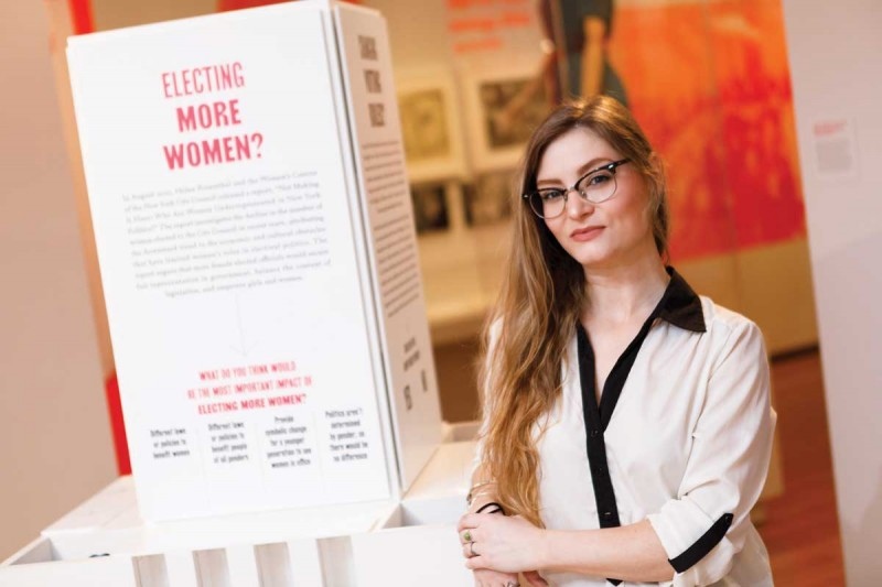"""Rebel Women: Defying Victorianism"" was conceived and curated by Marcela Micucci, MA'12, PhD '16"