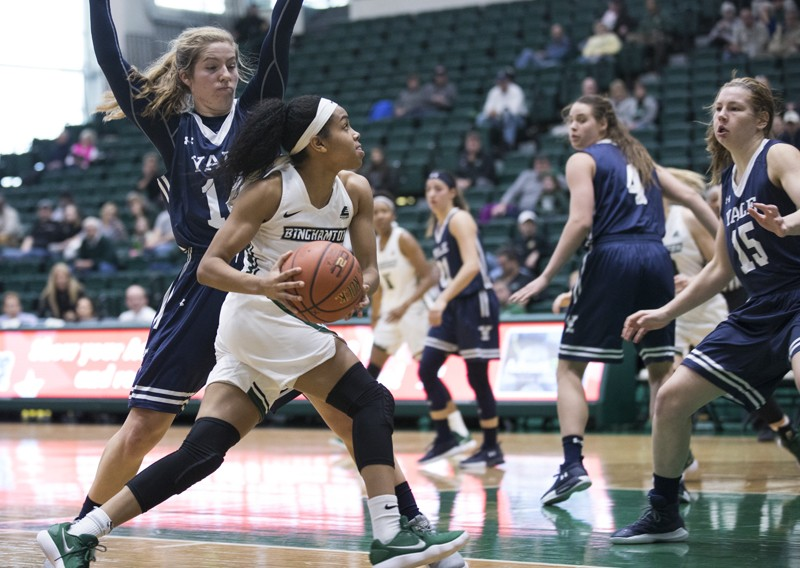 Junior guard Kai Moon was seventh in the America East last season in both assists and steals.