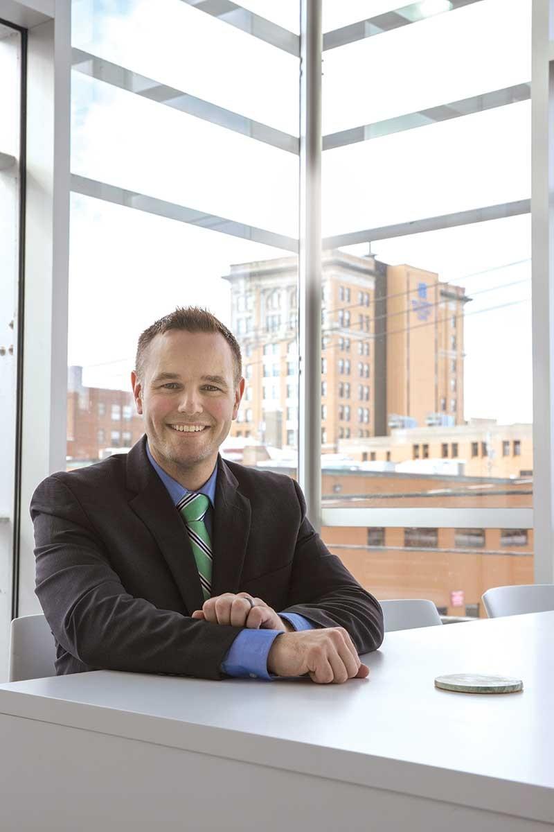Dan Mori, director of business incubation, launched the accelerator program.