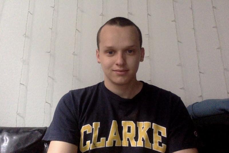 Art history and mathematical sciences major Nate Craig
