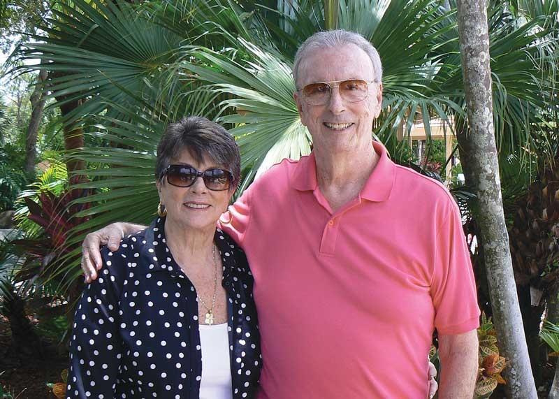 James A. Warner '60 and his sister, Judia Warner-Healey.