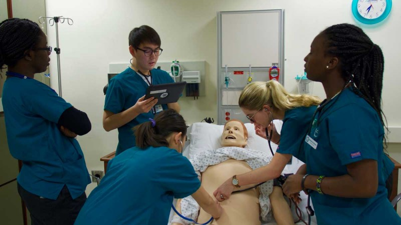 Simulation labs have become a crucial learning tool for nursing students. The replication of real-life situations helps Decker students learn faster and more efficiently.