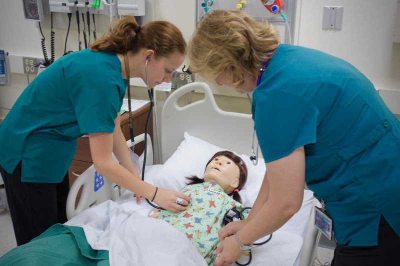 The Innovative Simulation and Practice Center boasts a small, cohesive staff who are skilled in developing and providing simulation activities for students at all levels of nursing education.