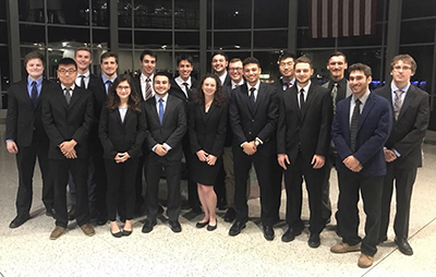 The 2017-2018 Binghamton Hyperloop Team