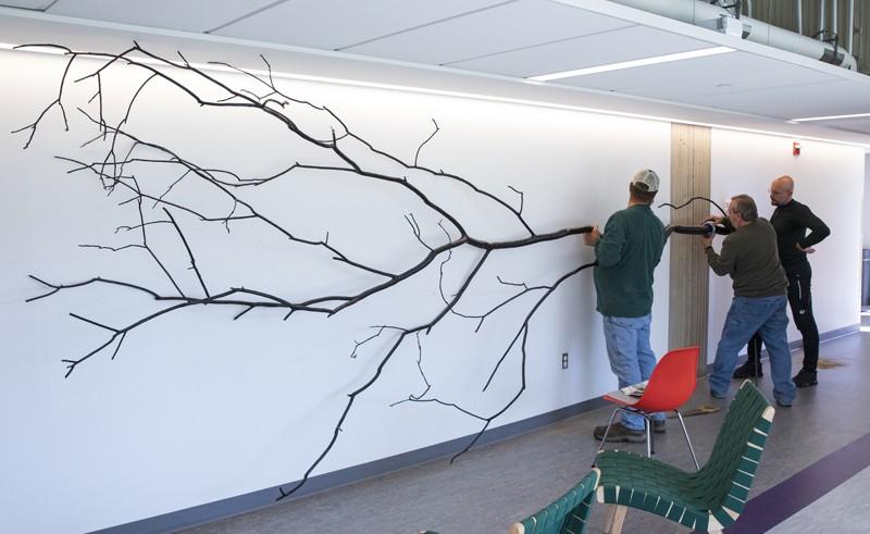 science departments psychology partner project tree blazo kovacevic associate professor watches second floor right binghamton cohen jonathan dendritic installed