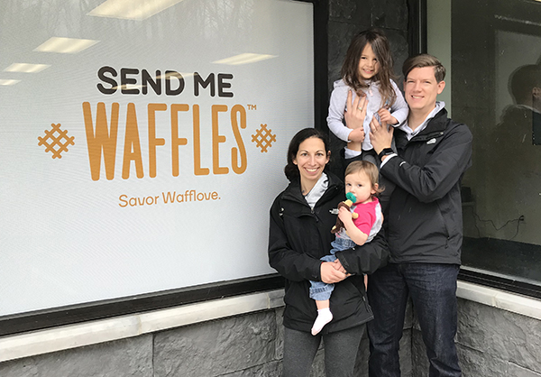 Ilene Friedman launched Send Me Waffles online-order business last year.