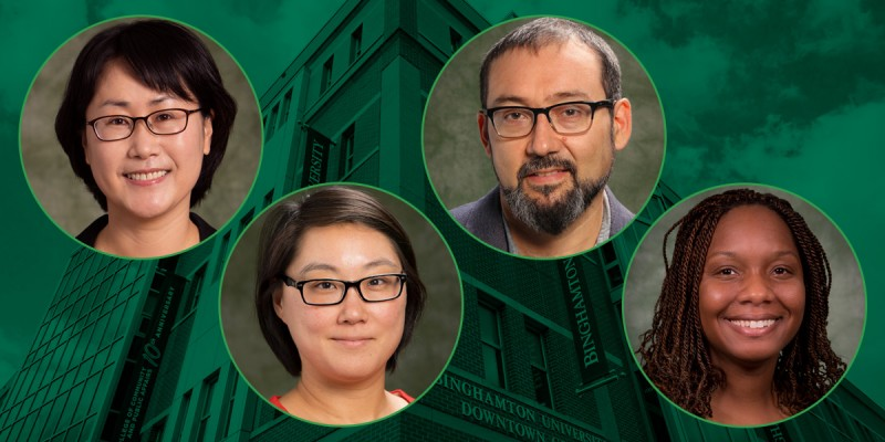 Four CCPA faculty members received a 2021-22 CCPA Research Excellence Award