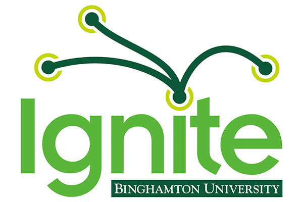 Binghamton's first Ignite session took place during Research Days, offering a platform for graduate students and post-docs to speak about their work in a casual setting.