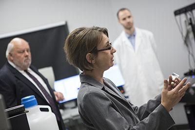 Professor of biological sciences Karin Sauer.