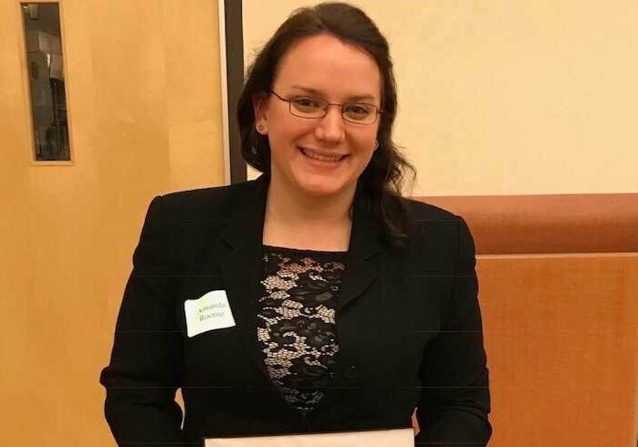 Binghamton University alumna Amanda Roome, now a research scientist with Bassett Healthcare Network.