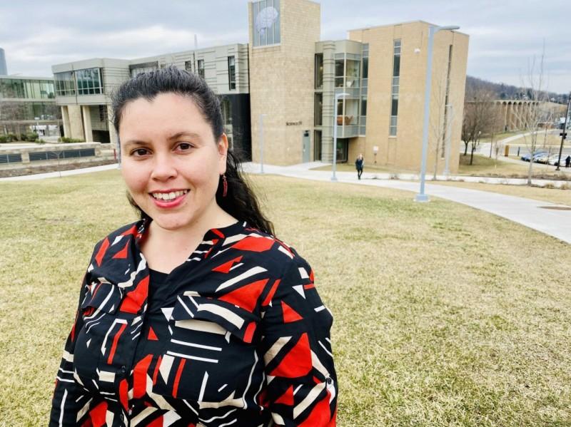 PhD candidate Mavi Ruiz-Blondet