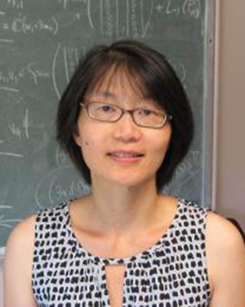 Mei-Hsiu Chen, adjunct assistant professor of mathematical sciences