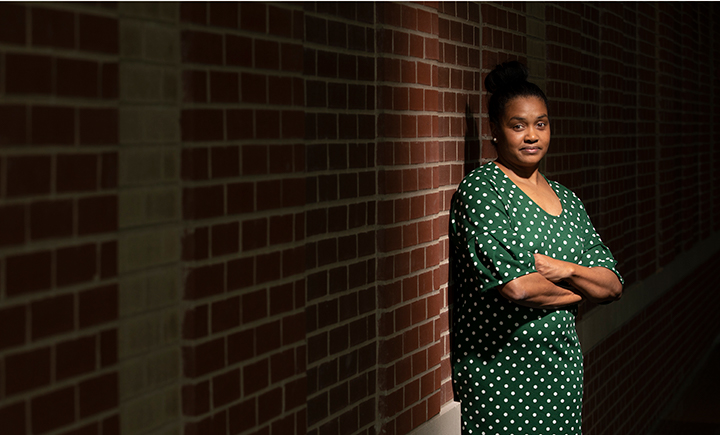 Assistant Professor Miesha Marzell considers herself a social epidemiologist, concerned with the way social structures, institutions and relationships influence health.