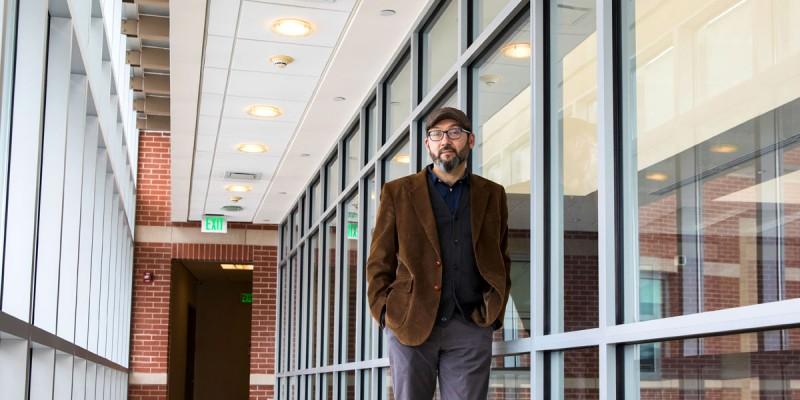 René Rojas, assistant professor of human development in the College of Community and Public Affairs (CCPA), has dedicated his career to working toward social justice in Latin America.