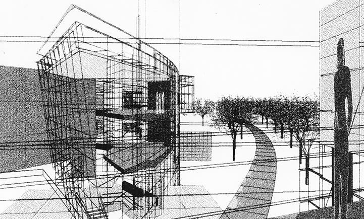 Artist's rendering of Academic A