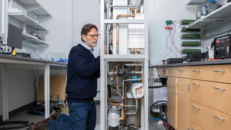 Mike Brookman, CEO of BRASH Engines, continues to improve his innovative boiler system.