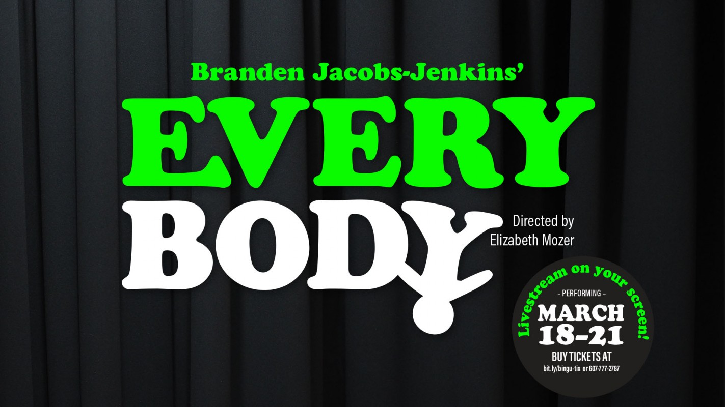 A poster for Branden Jacobs-Jenkins'