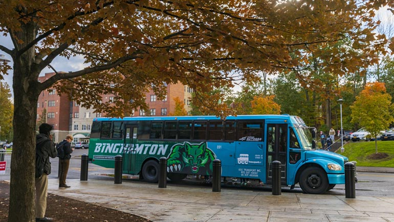 Restarting Binghamton: How to get around campus and the region
