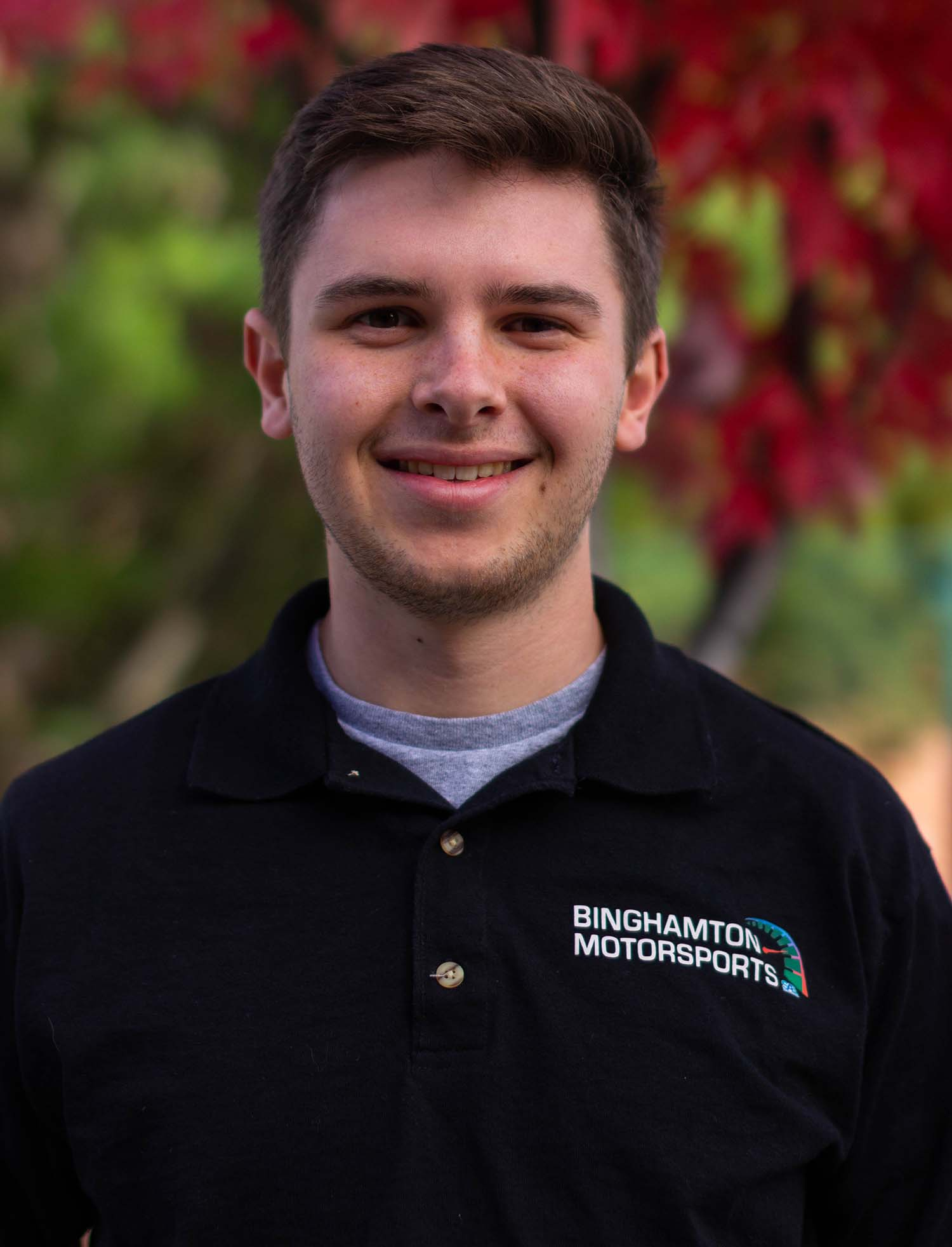 Jacob Honsinger '19 was the project manager for the Binghamton Motorsports Formula car.