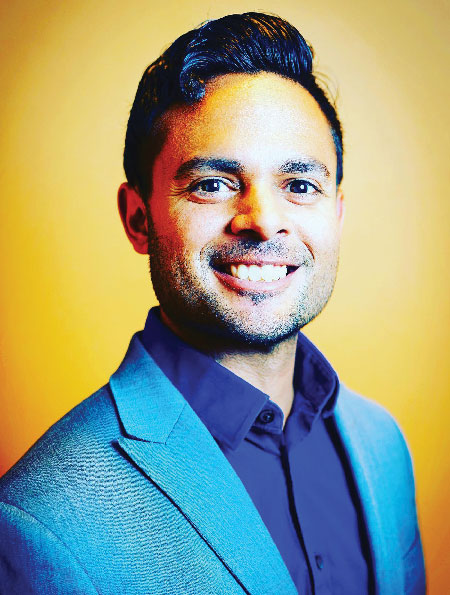 Jay Samant, MSEd '11, founding assistant principal of instruction at STRIVE Prep-RISE High School in Denver