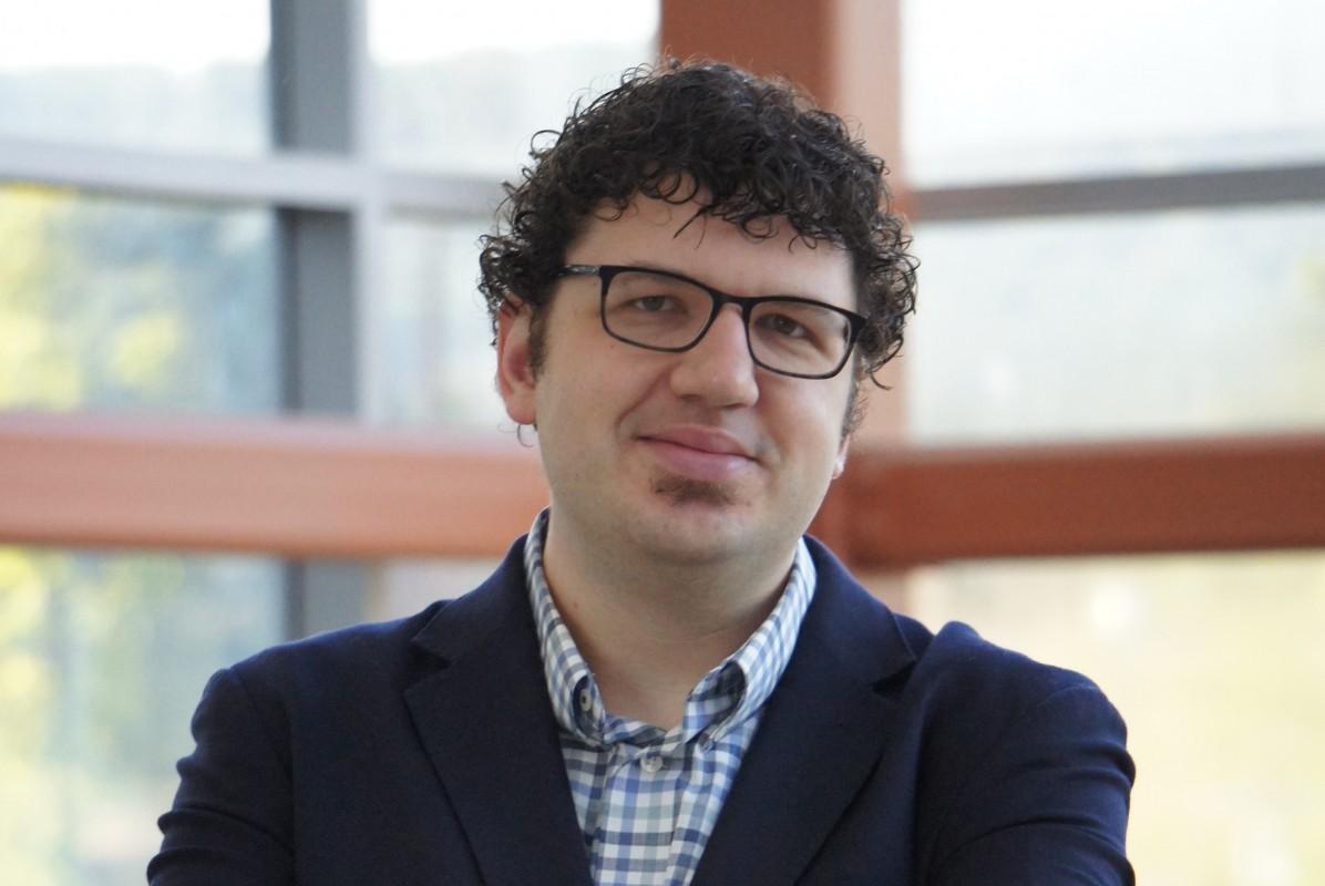 Binghamton University Assistant Professor of Chemistry John Swierk