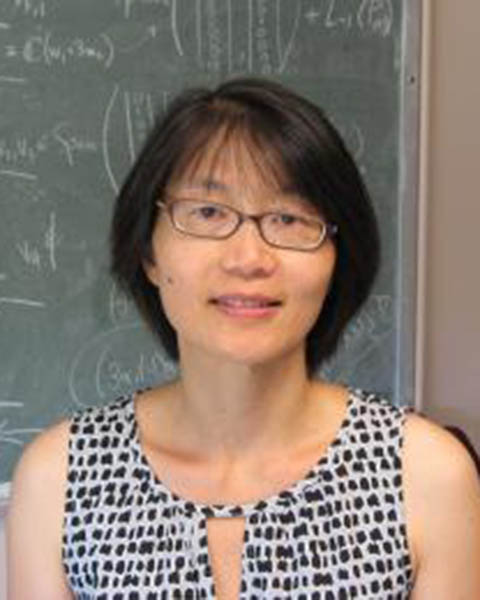 Mei-Hsiu Chen, adjunct assistant professor of mathematical sciences