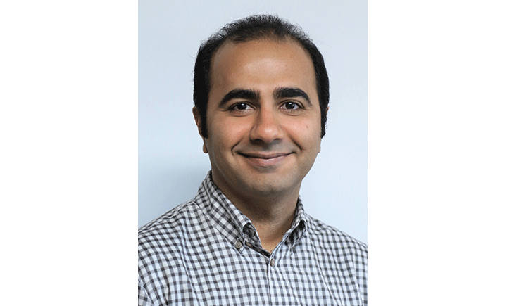 Graduate student Mehdi Boroumand is working on his PhD in electrical engineering.