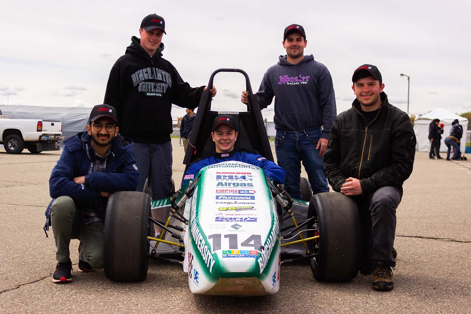 The Binghamton Motorsports team competed with a combustable-engine Formula car for the first time in the 2018-19 academic year.