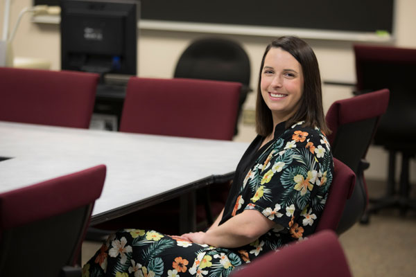 Christine Podolak works with agencies across the region to find field placement experiences for students in Binghamton University's new master of public health program.