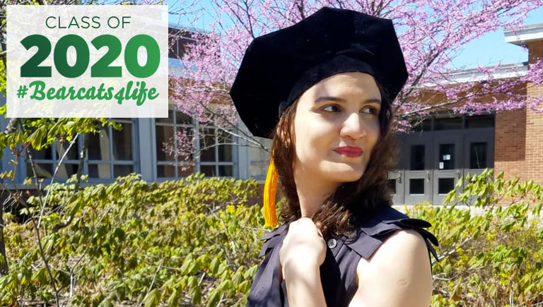 Rania Said earned her PhD in comparative literature in May 2020.