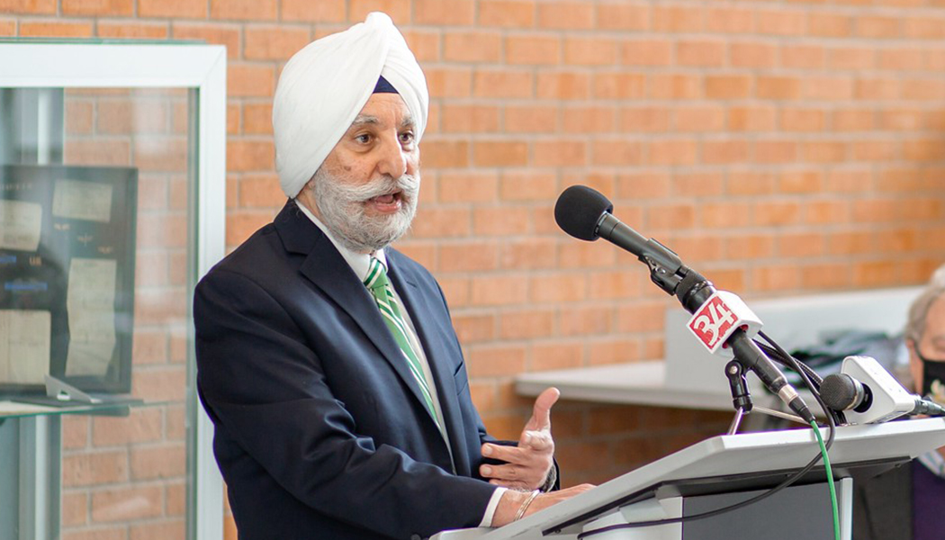 Upinder Dhillon, dean of the Binghamton University School of Management, explains how the articulation agreement will help transfer students.