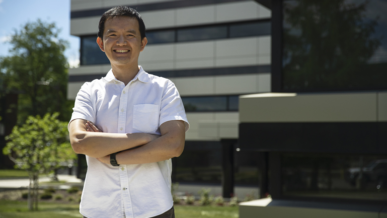 Assistant Professor Yifan Zhang won an NSF CAREER Award for his computer science work on edge computing.