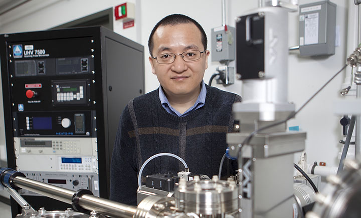 Binghamton University materials science and engineering professor Guangwen Zhou was one of the scientists working on the project.