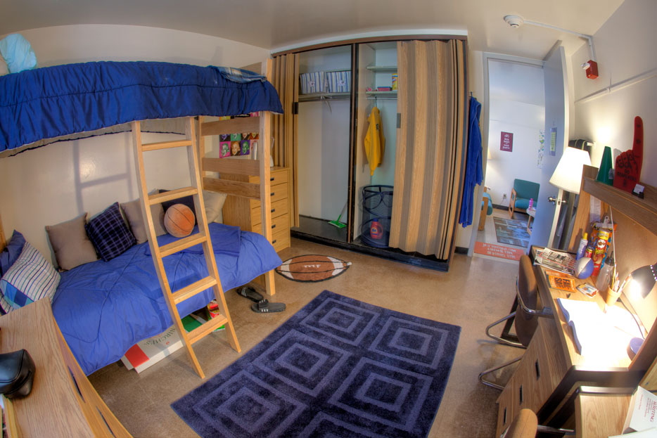 Hinman College Suite Tour Daily Photo Aug 04 2012