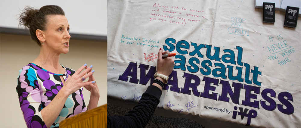 Dean of Students Office Hosts Two Events for Sexual Assault Awareness Month